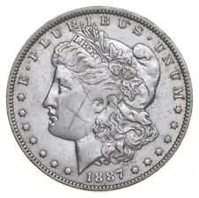 W@W Early 1887-O Morgan Silver Dollar - 90% US Coin - Nice Coin *166