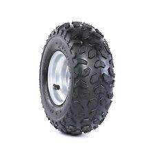 145/70- 6 Wheel Rim + Tire 50cc 110cc Quad ATV Buggy Tyre UTV Lawn Mower