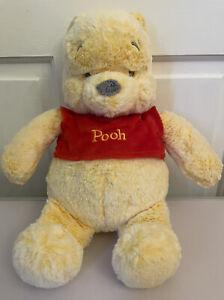 "Winnie The Pooh Bear 13"" Soft Toy Plush By Posh Paws Super Soft Quality & Cuddly"