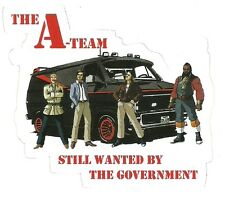 A-Team Van Sticker Decal