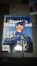 Dale Earnhardt Jr Autographed NL Commemorative Retirement Sports Illustrated