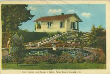 Parry Sound, ON The Rock Garden and Ranger's Cabin 1945