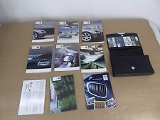 BMW OEM E60 OWNERS MANUAL BOOK BOOKLET INFORMATION INSTRUCTION #