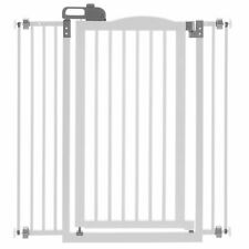 """New listing Home Indoor Dog Door One Touch Gate 1.5"""" Space 20.1"""" Wide Rubber Stopper"""