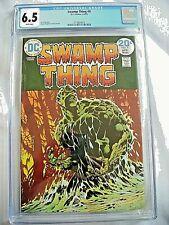 DC Comics SWAMP THING #9 CGC 6.5 FN+ Bernie Wrightson 1974