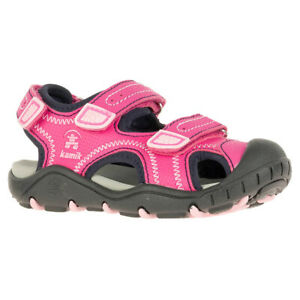 Kamik Kid's Seaturtle2 Sandals | Kid's Water Shoes | Pink, Lime Green or Blue |