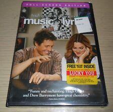 Music and Lyrics (Full Screen DVD, 2007) .. Hugh Grant, Drew Barrymore