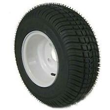 American Tire 215/60-8 Tire & Wheel 4 Hole (B) White 215/60X8 3H250