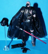 STAR WARS LEGACY DARTH VADER BATTLE DAMAGED UNLEASHED LOOSE COMPLETE