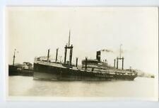 1939 MS Tjibadak in China - Vintage Ship Photo - KJCPL Royal Interocean Lines