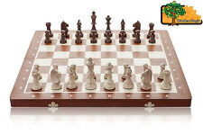 TOURNAMENT 5 - Large 48 cm / 18.9 in Handcrafted Wooden Chess Set Staunton