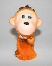 Vintage Russian Ussr Soviet Monkey Rubber toy (orange)