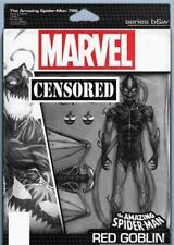 AMAZING SPIDER-MAN #799 CHRISTOPHER ACTION FIGURE B&W VAR MARVEL COMICS GOBLIN