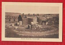 Dorset. Stone Quarry, Swanage.   Postcard