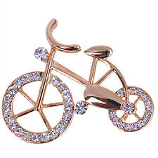 New Brooch Pin Fashion Bike Buckle Bicycle Pectoral Flower Gift Brooches Pins CC