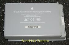 "New OEM Apple PowerBook G4 15"" (Aluminum) Battery A1078 825-6430-A 661-2927"