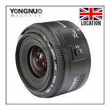 UK YONGNUO YN35mm F/2 Lens Wide-angle Large Aperture Fixed Auto Focus For Canon