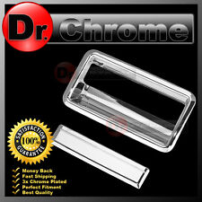 88-98 GMC C1500+C2500+C3500 Pickup Triple Chrome Plated Tailgate Handle Cover