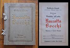 Catalogo della vendita all'asta della Raccolta Bocchi. 1931