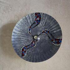 KOLARZ Wandleuchte Deckenleuchte grau blau silber