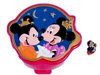 Vintage Polly Pocket Disney Minnie & Mickey Mouse Playcase Bluebird + Mickey