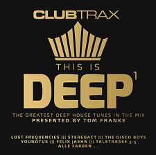 CD This Is Deep Vol.1 Club Trax d'Artistes divers