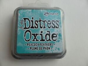 *NEW* (Ranger) TIM HOLTZ Distress OXIDE *Peacock Feathers* (Full Sized Ink Pad)