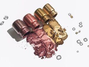 Loose Intense Pigment Eyeshadow Powder Pigment Sample Glitter EYE - UK SELLER