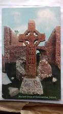 More details for 1909 colour postcard,ancient cross,clonmacnoise,ireland ,1900s,streatham,antique