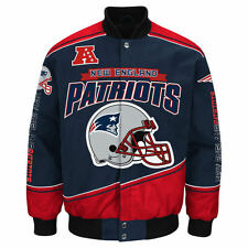 New England Patriots NFL Enforcer Jacket - Size Adult 4X Free Ship