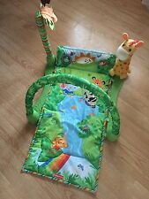 Fisher Price Rainforest Baby Activity Center Gym Play Mat 1 2 3