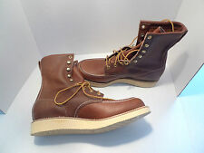CHIPPEWA- MEN'S LEATHER BOOTS-MADE IN USA-SIZE 8.5 D