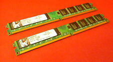 2gb Kit Kingston Kvr667d2n5/1g Ddr2 No Ecc Desktop Memory Ram 9905429-002