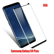 2Pcs Black Tempered Gorilla Glass Screen Protector For Samsung Galaxy S9 Plus US