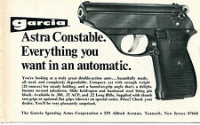 1972 Print Ad of Garcia Astra Constable .22 Pistol