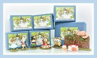 ❤️Wee Forest Folk Alice in Wonderland 6 PC COMPLETE Set Cheshire Cat Queen Lot❤️