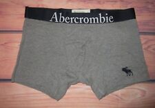 MENS ABERCROMBIE & FITCH MOOSE GRAY BOXER BRIEF SIZE L (33/34)