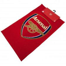 Arsenal FC Official Printed Football Crest Bedroom Rug/Floor Mat supporters kids