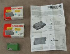 2 x Fleischmann 6955 Universal Relay