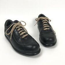 Camper Shoes Pelotas Size 36 6 Black Lace Up Sneakers Leather Shoes