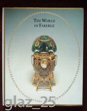 "Album ""The World of Faberge"" Sealed, Hardcover, Gemstones, gold, jewelry antique"