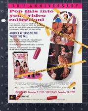 Valley Of The Dolls_Original 1997 Trade print Ad promo_Sharon Tate_Patty Duke