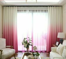 Long Window Curtain Elegant Black Out Thick Smooth Home Office Bedroom Living