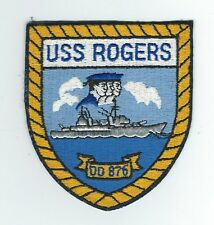 70's DD-876 USS ROGERS  patch