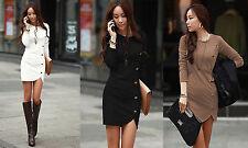 Mini-Damenkleider im Tuniken-Stil aus Viskose