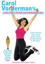 CAROL VORDERMAN - KICK START DETOX AND EXERSISE PLAN - DVD - REGION 2 UK