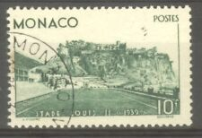 "MONACO STAMP TIMBRE N° 184 "" STADE LOUIS II 10F VERT 1939 "" OBLITERE TB"