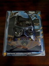 BATMAN Costume ACCESSORY KIT New CHESTPIECE With CAPE MASK BELT Dark Knight Rise