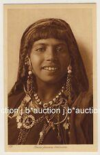 LEHNERT & LANDROCK #109 YOUNG BEDOUIN WOMAN * Vintage 1910s Ethnic Nude PC