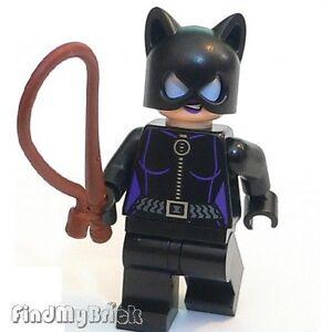 BM046 Lego Classic Catwoman Minifigure Batman Super Heroes DC Universe 6858 NEW